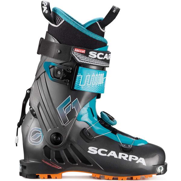 Scarpa F1 2019. La chaussure de randonnée est parfaite pour tous les randonneurs à la recherche d'une chaussure technique de montagne qui permettra des ascensions longues et des descentes avec un maximum de plaisir.
