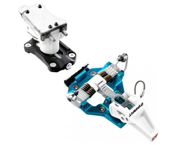 Dynafit Speed Turn 2.0. Une fixation légère, polyvalente et accessible en prix. Un must à mettre sur pratiquement tous les skis! Pour plus de praticité, elle possède une talonnière rotative avec trois cales de montée qui s'adaptera aux différentes pentes rencontrées