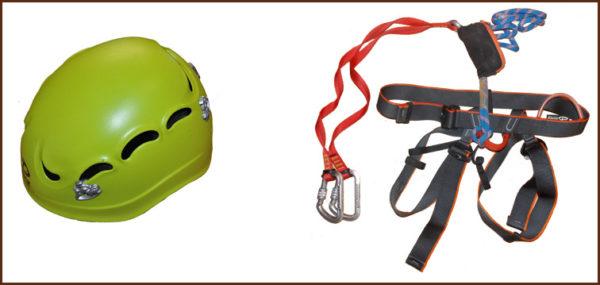 Kit Matériel & équipement pour Via Ferrata