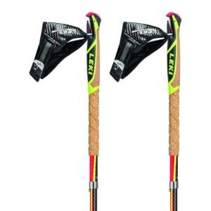 Batons Leki Micro Trail Pro 100% Carbone pliable léger pour le trail et la marche avec sa fixation spécifique