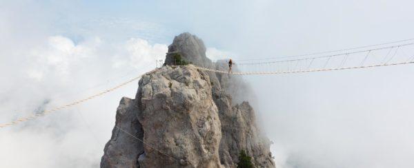 Randonnée du Vertige Dolomites Italie