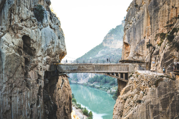 Via Ferrata Andalousie : El caminito del Rey, la via ferrata de l'extrême (c) carnetdetipiment.com