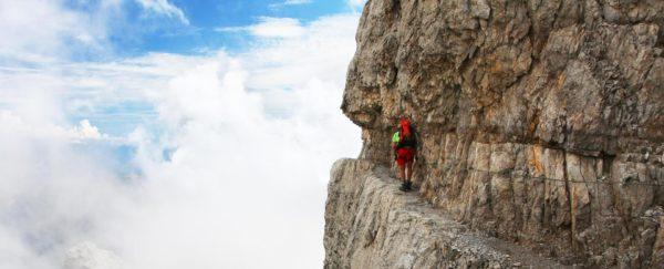 Via ferrata Italie Dolomites (c) Alibert Trekking