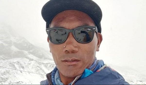 Kami Rita Sherpa sur son compte Instagram