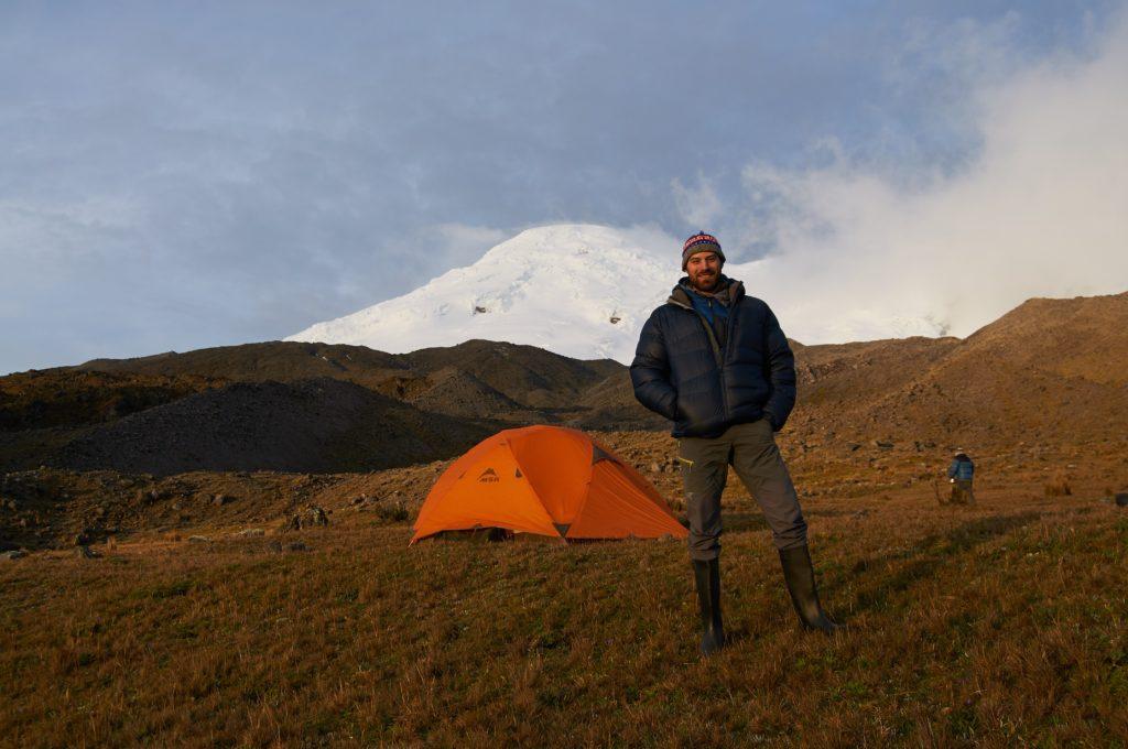 Voyage d'alpinisme dans les Andes équatoriennes. Photo : Samuel Lalande Markon
