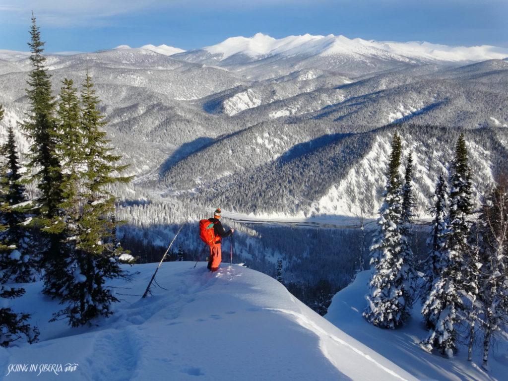 ski en Russie Sibérie Luzhba