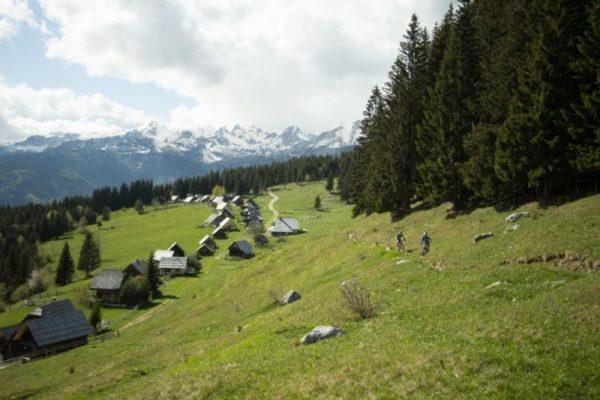 Randonnée VTT en Slovénie