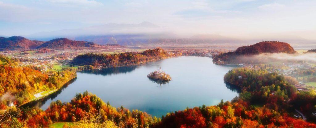 De belles saisons en Slovénie pour profiter du soleil et du VTT