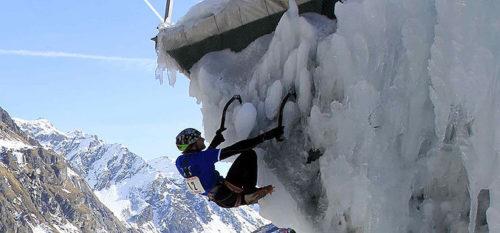 Champions du piolet à glace © Monica Dalmasso / Plagne