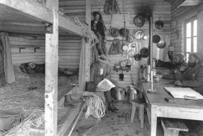 Refuge de l'Aigle en 1925