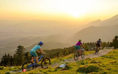 Traversez les Alpes Juliennes en Slovénie en VTT