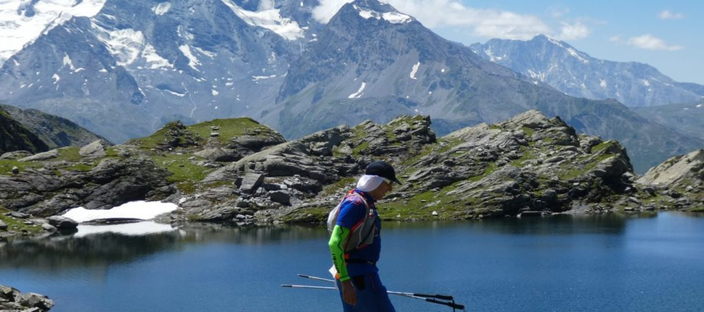 Trail dans les Alpes à la Rosière photo : trail session