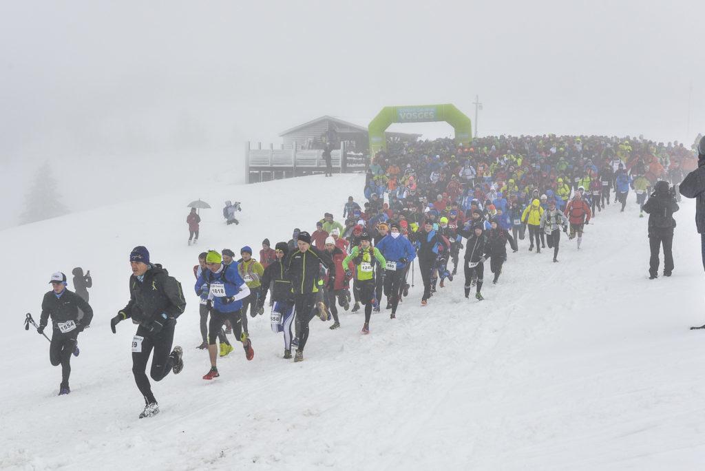 Un Trail Blanc dans la neige