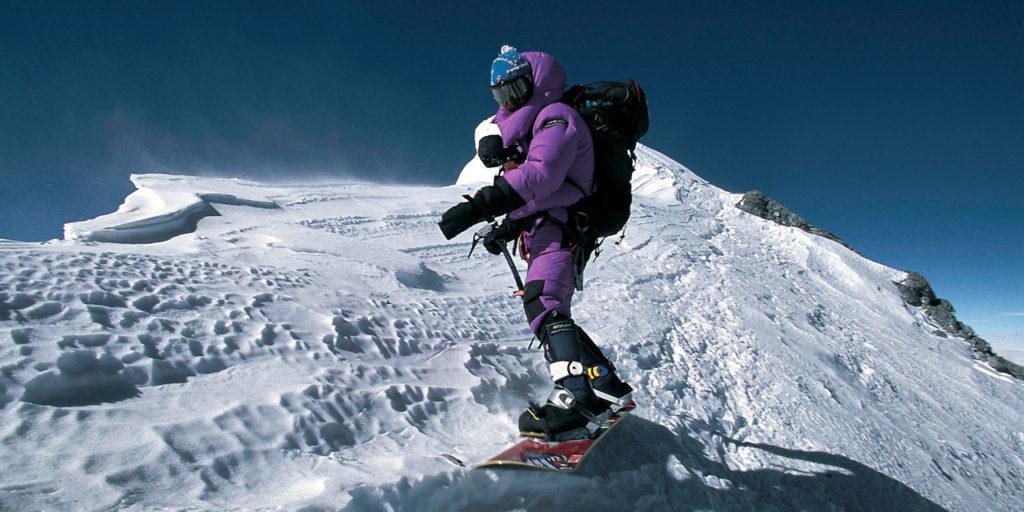 Skieurs de l'impossible, ces petits voyous couillus Sam Beaugey, André-Pierre Rhem, Marco Siffredi ou encore Jérôme Ruby crédit AFP