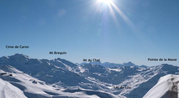 Hors piste au mont du Chat, de la poudreuse et du blanc jusqu'au lac du loup
