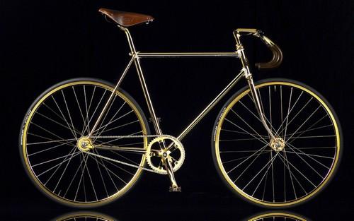 Vélo Aurumania Crystal Edition Gold