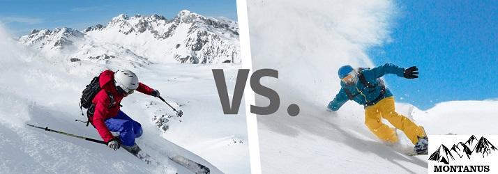 Ski ou Snowboard : Lequel est le plus facile pour les débutants ?