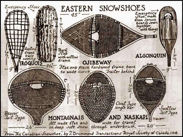 Type de Raquette à neige