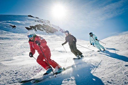 Apprendre le ski avec un moniteur
