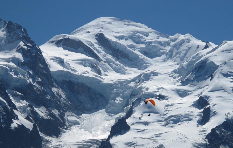 Paralpinisme au Mont Blanc