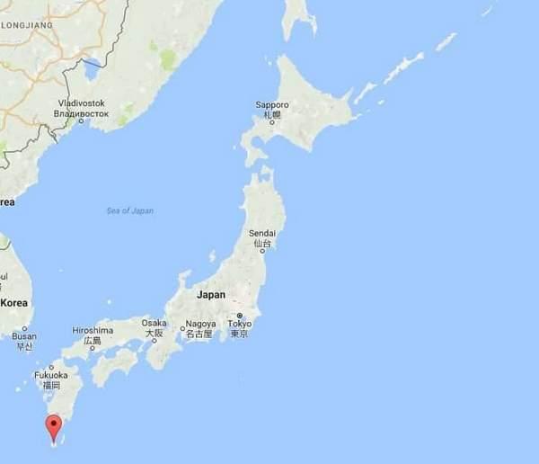Ou se trouve Yakushima ?