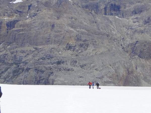 Exploration du champ de glace de Patagonie en Argentine